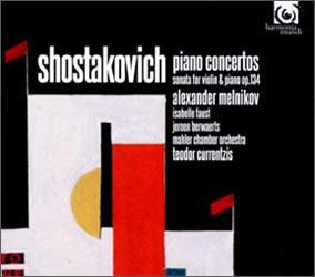 Shostakovich: Piano Concertos; Sonata for Violin and Piano, Op. 134